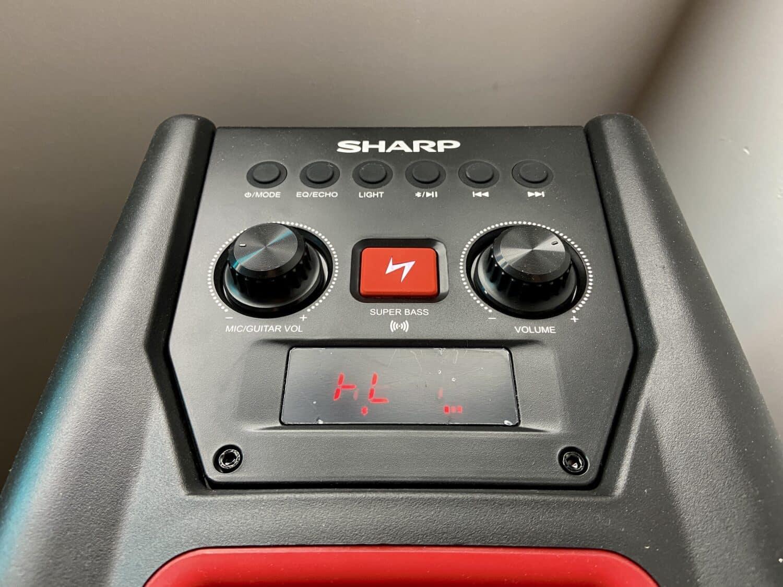 Sharp PS-929 commandes
