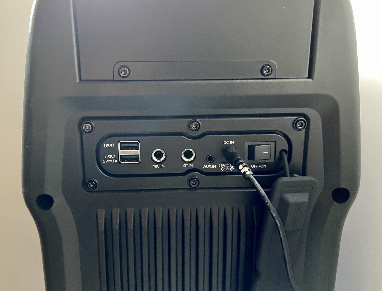 Sharp PS-929 ports