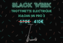 Photo de 160 euros de réduction sur la trottinette électrique Xiaomi – Black Week