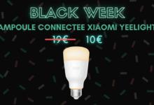 Photo de Moins de 10 euros pour l'ampoule connectée Xiaomi Yeelight – Black Week