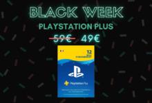 Photo de L'abonnement PlayStation Plus pour PS4 et PS5 est à -25% – Black Week