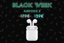 Photo de Les AirPods 2 sont moins chers de 22% – Black Week
