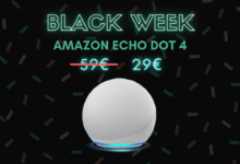 Photo de Echo Dot 4 : l'enceinte connectée est à -50% sur Amazon – Black Week