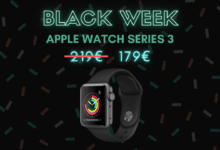 Photo de Apple Watch Series 3 : la montre connectée tombe à 179 euros – Black Week