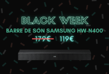 barre de son samsung hw-n400 bon plan black week
