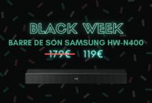 barre de son samsung hw-n400 bon plan black week