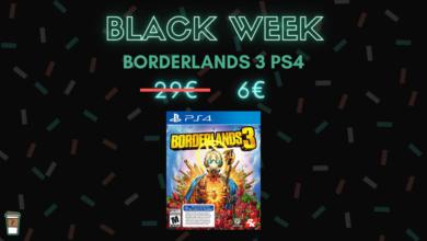 borderlands 3 PS4 bon blan black week