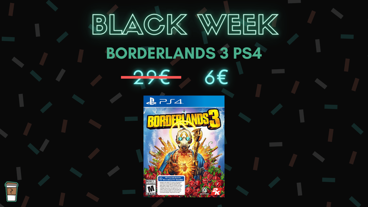 borderlands 3 PS4 bon blan black week