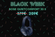 Photo de Le Bose QuietComfort 35 II baisse son prix de 170€ – Black Week