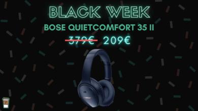bose quietcomfort 35 II black week bon blan