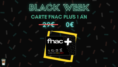 Photo de Carte Fnac + gratuite pour tout retrait en magasin – Black Week