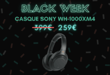 Photo de Sony WH-1000XM4 : une réduction de prix record  – Black Week