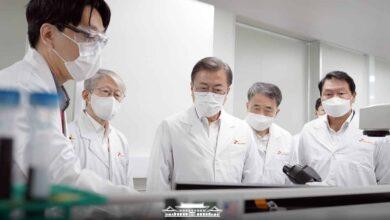 Coree du Sud President Moon vaccin COVID-19