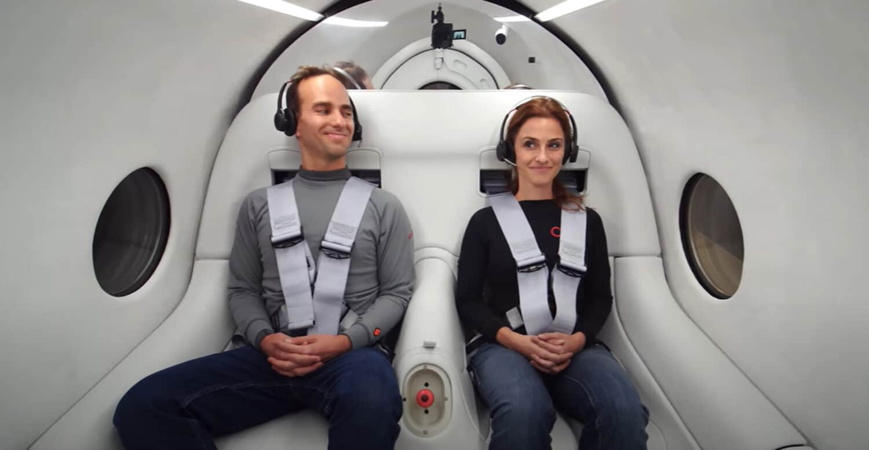 Hyperloop - intérieur