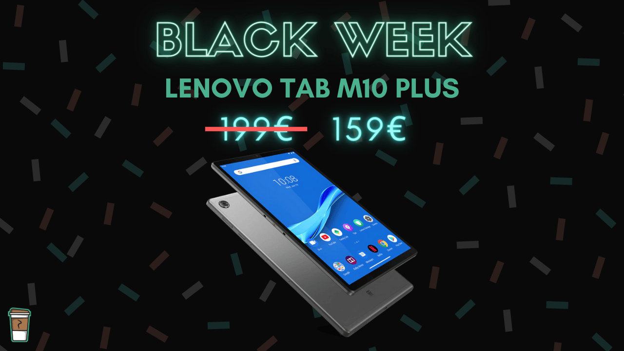 lenovo tab m10 plus bon plan black week