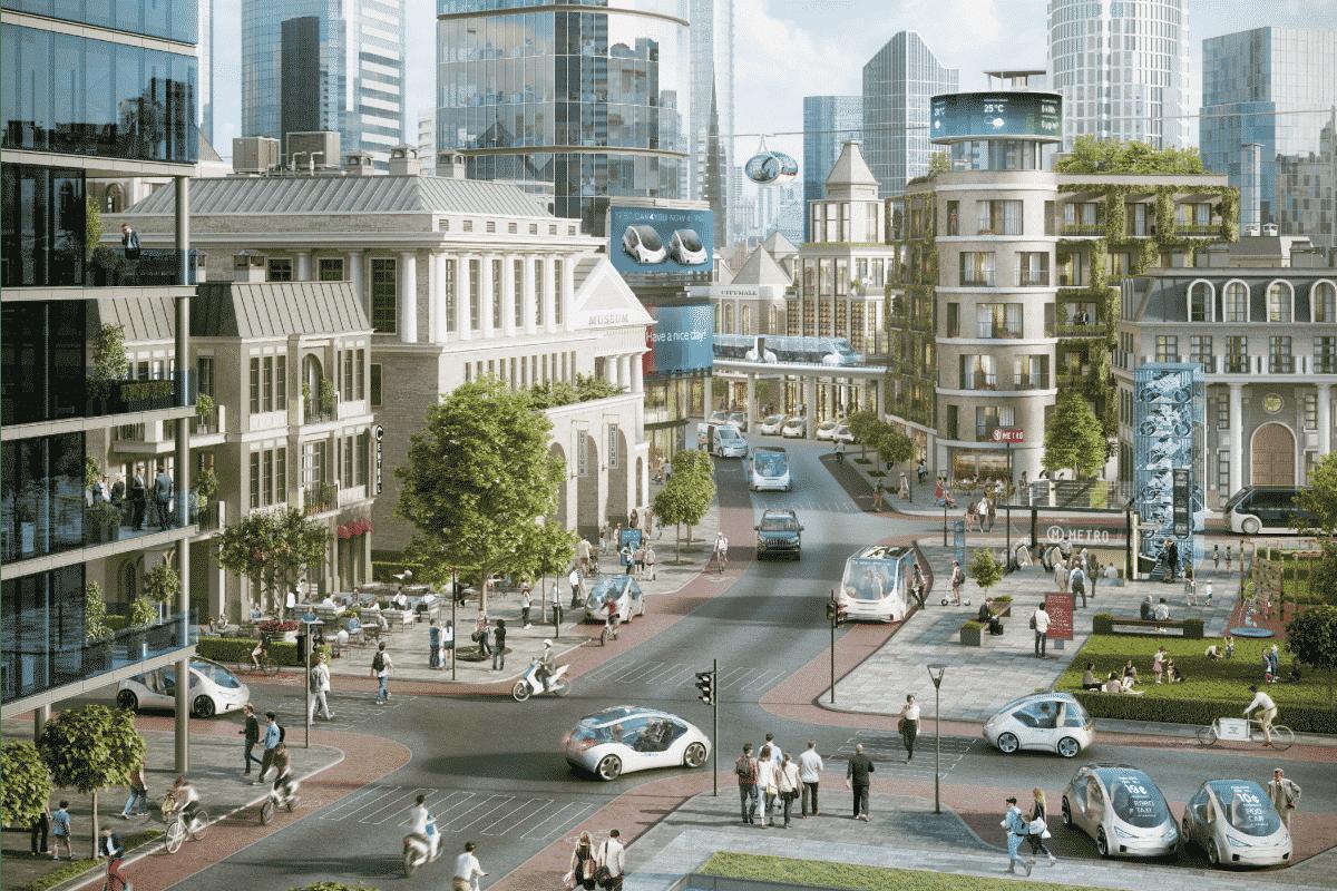 ville intelligente smart parking seongnam