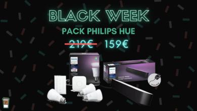 pack philips hue e27 hue play bon plan black week