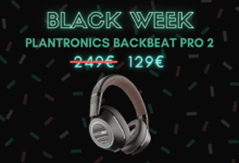 Photo de 120€ de réduction sur le PLANTRONICS BACKBEAT PRO 2  – Black Week