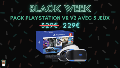 playstation vr 5 jeux bon plan black week
