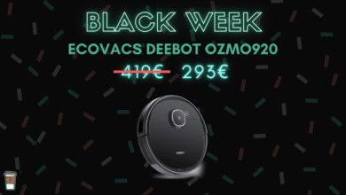 Photo de Robots aspirateurs ECOVACS : jusqu'à 125 euros de réduction – Black Week