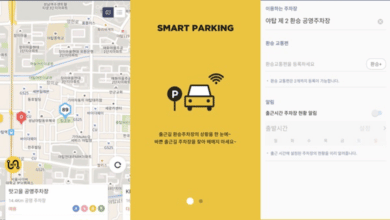 ville intelligente smart parking seongnam