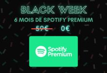 Photo de Cdiscount à volonté : 6 mois de Spotify Premium offerts – Black Week