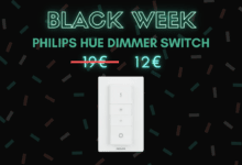 Photo de Télécommande Philips Hue Dimmer Switch à -35% – Black Week