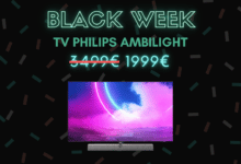 Photo de 1000€ de réduction chez la gamme Ambilight de Philips – Black Week