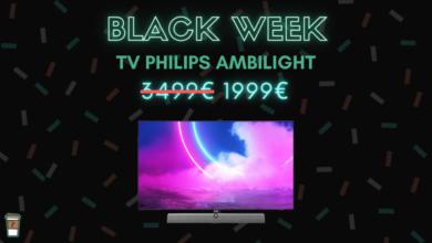 Photo de 1000€ de réduction chez la gamme Ambilight de Philips – Black Week
