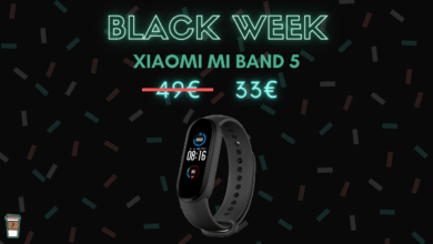 xiaomi mi smart band 5 bon plan black friday