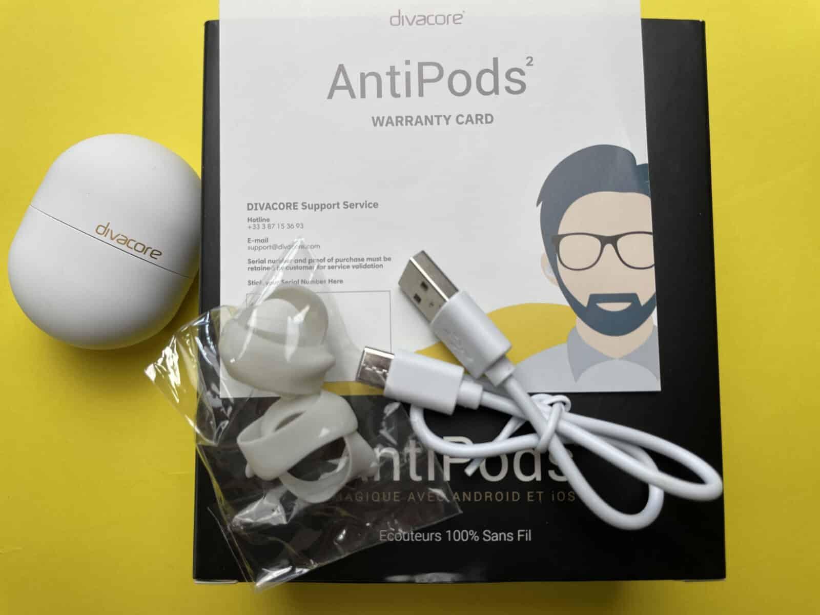 Accessoires avec les AntiPods 2