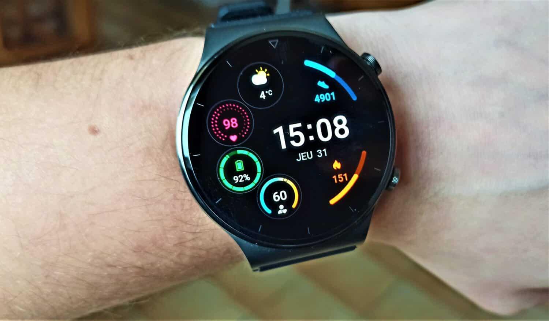 Huawei Watch GT 2 Pro cadran actif