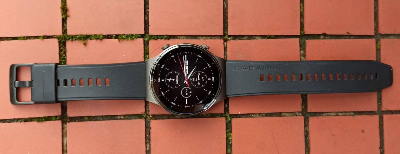 Huawei watch GT 2 Pro montre en longueur et détails