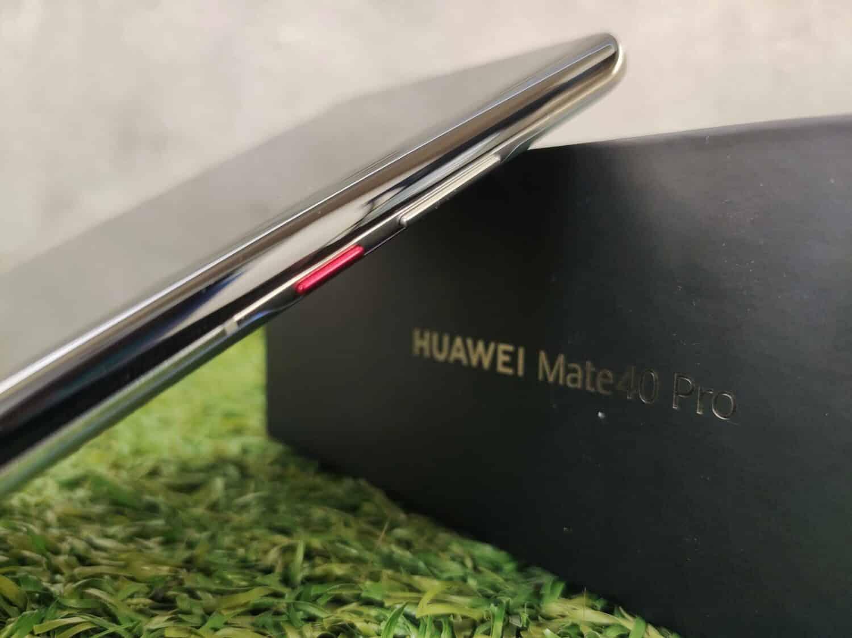 Huawei Mate 40 Pro - Boutons