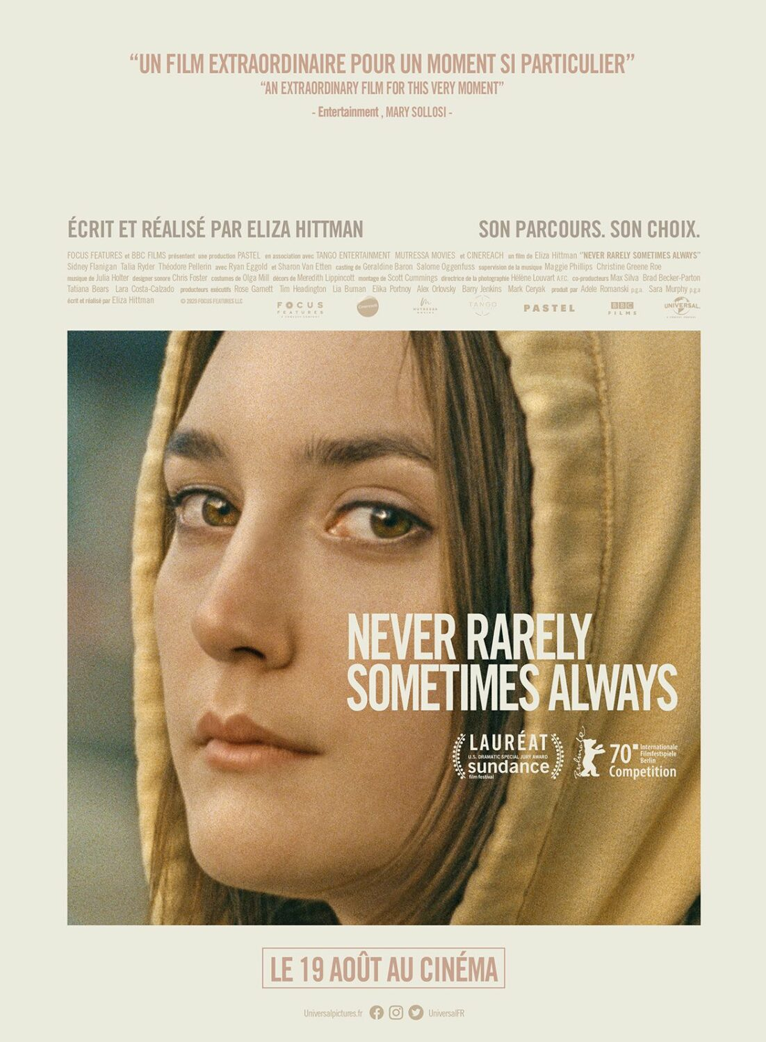 Affiche de Never Rarely Sometimes Always