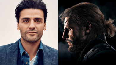 Oscar Isaac X Solid Snake