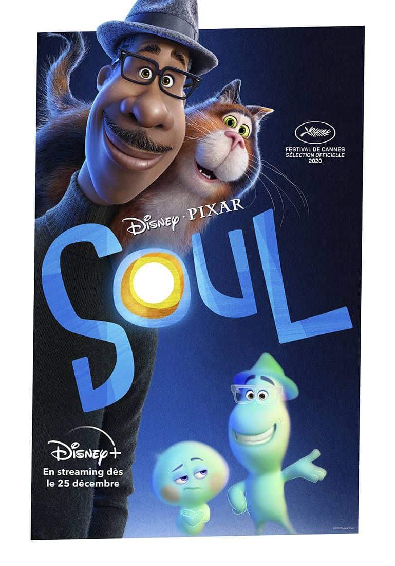 Affiche du film Disney/Pixar Soul