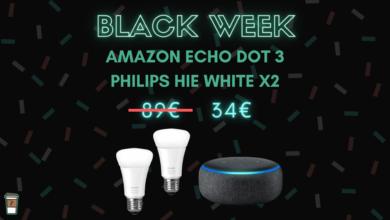 amazon echo dot 3 philips hue black friday
