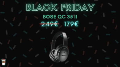 bose qc 35 II reduction de bruit black friday