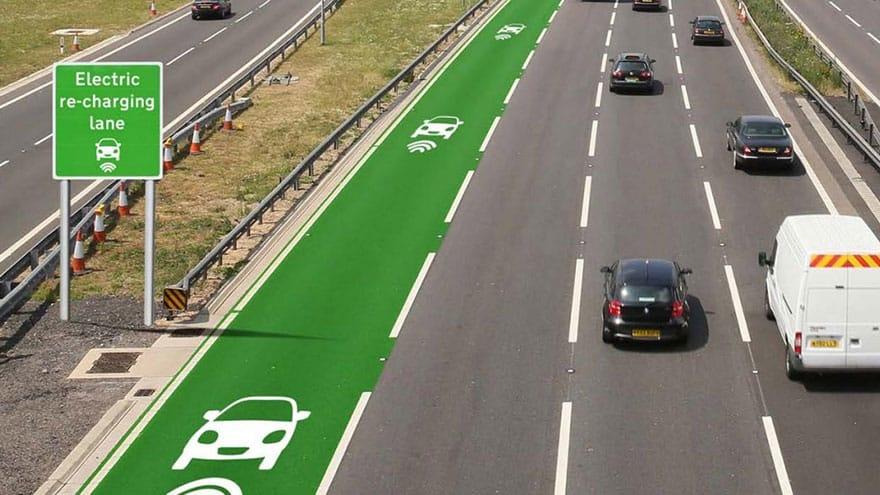 route charge électrique Royaume Uni