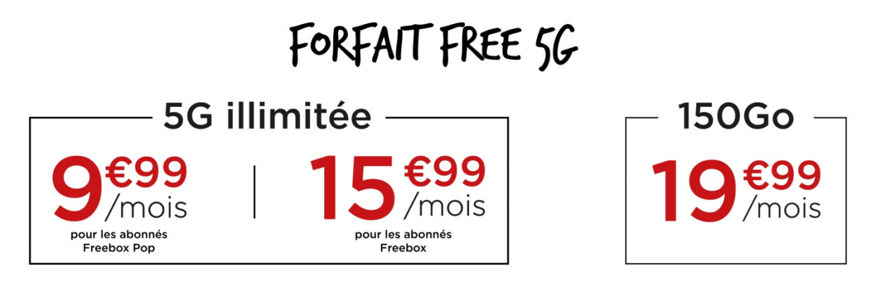 forfait-mobile-free-5G-abordable