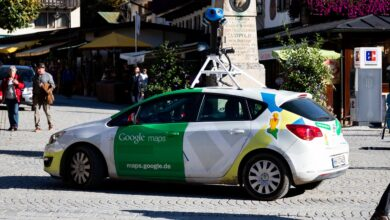 Voiture-Google Maps