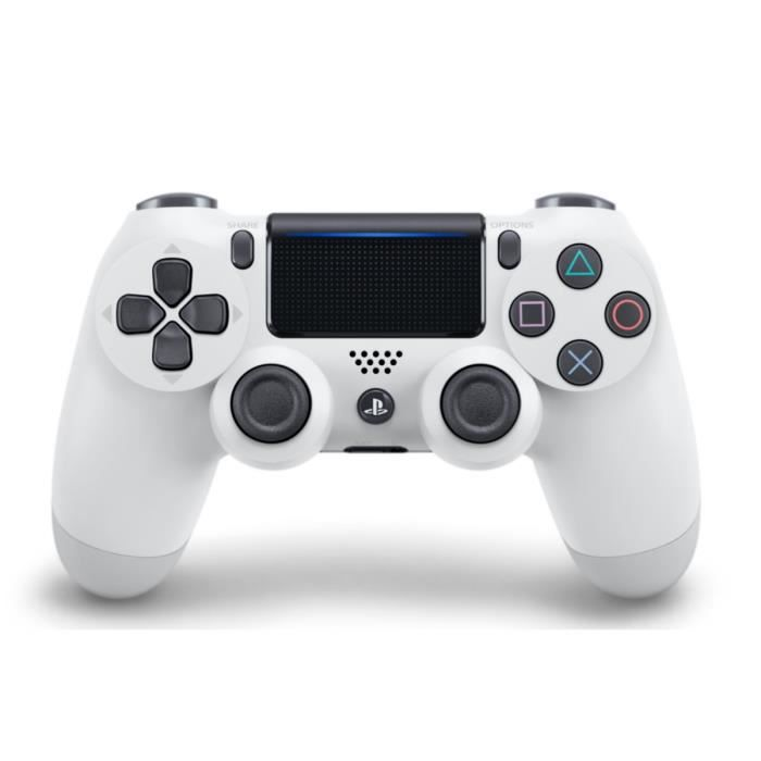manette PS4 DualShock Blanche