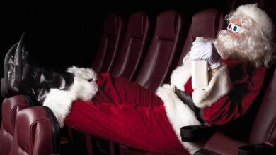 Pere Noel au cinema