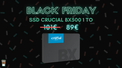SSD Crucial BX500 1 To