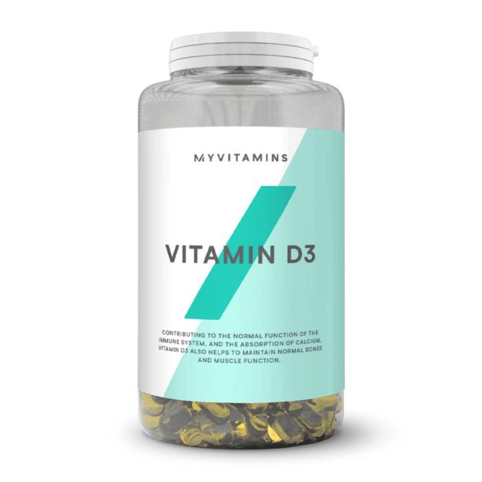Vitamines D cachets MyProtein