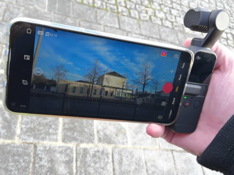 DJI pocket 2 smartphone