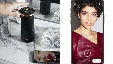 Le robot ménage au rouge à lèvres d'Yves Saint Laurent