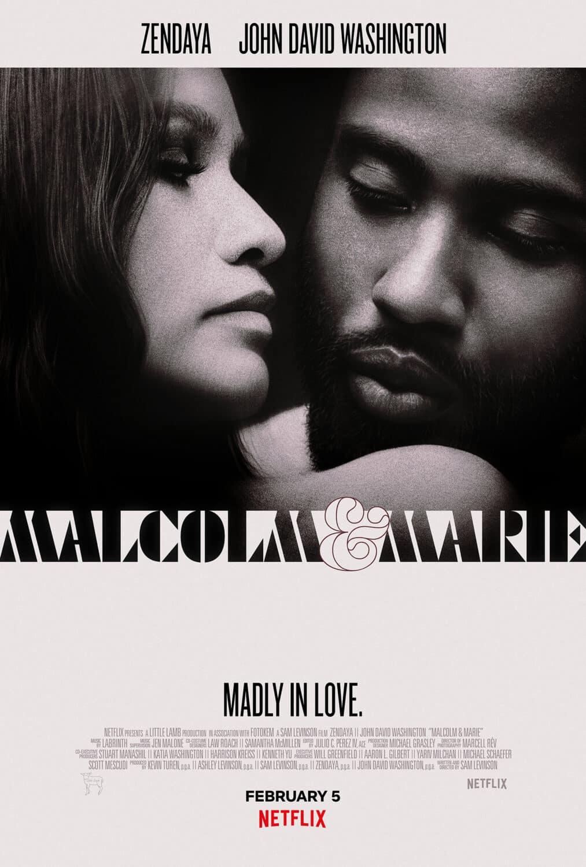 Affiche Malcolm et Marie