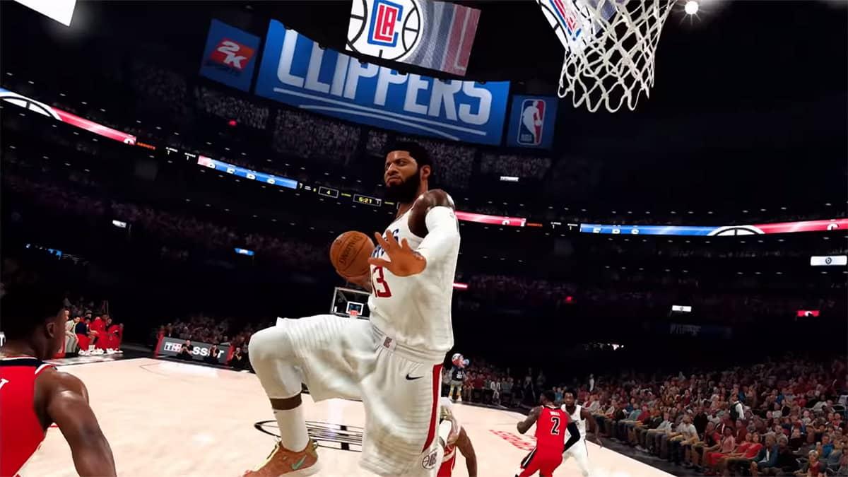 NBA2K21 dunk